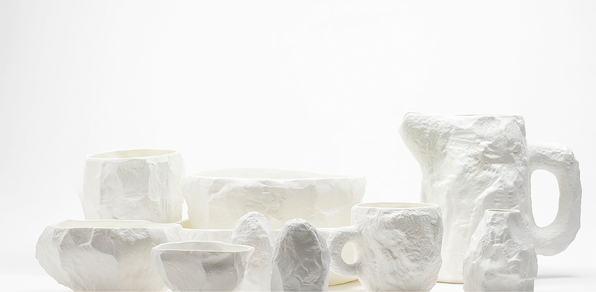 Crockery White Collection with Max Lamb | 1882 Ltd.