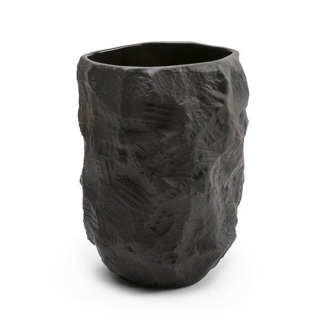 Crockery Black Tall Vase Thumbnail 01