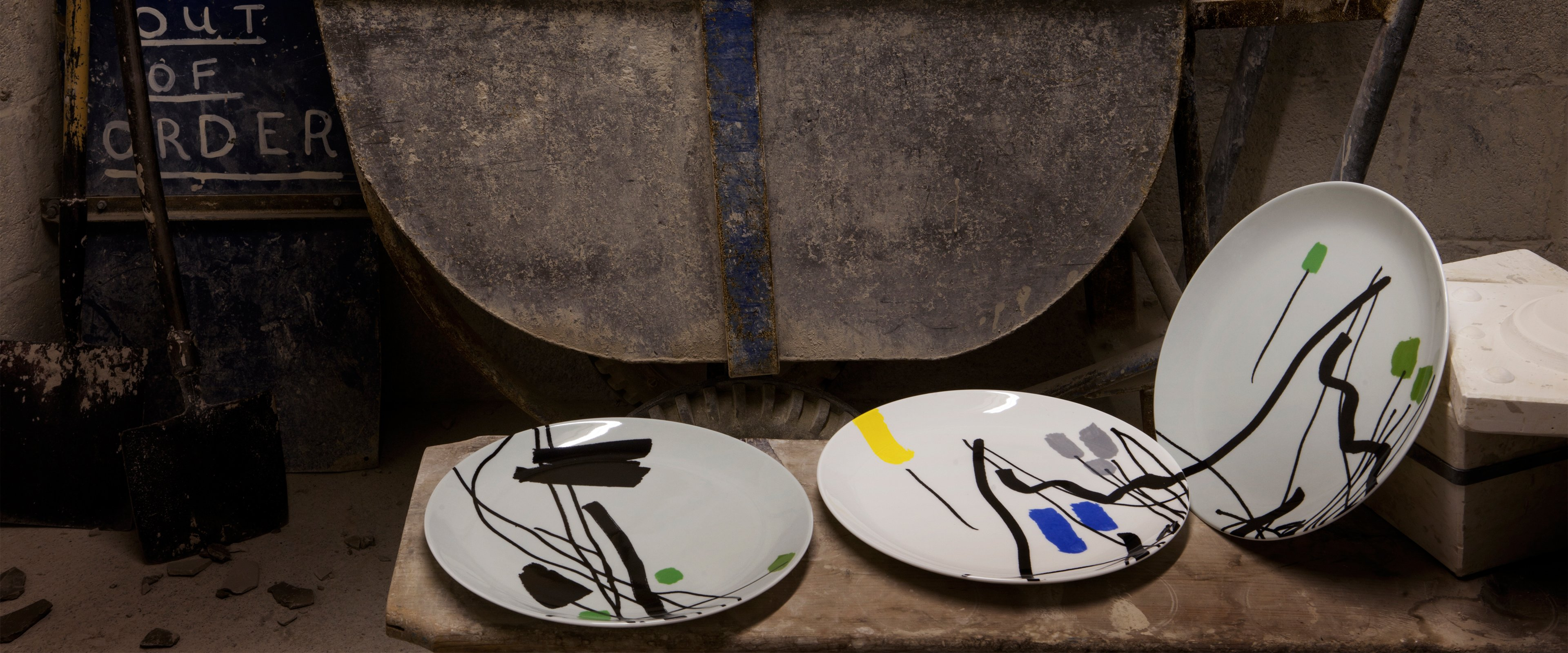 Garden Ware Table Ware Collection with Bruce McLean | 1882 Ltd.