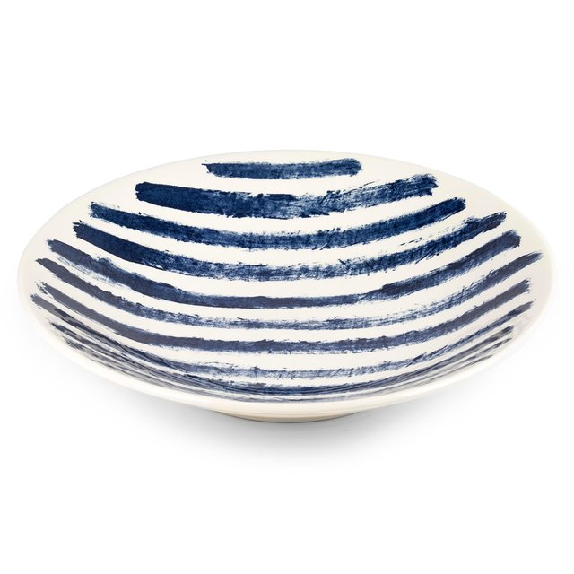 Indigo Rain Large Serving Bowl Thumbnail 01