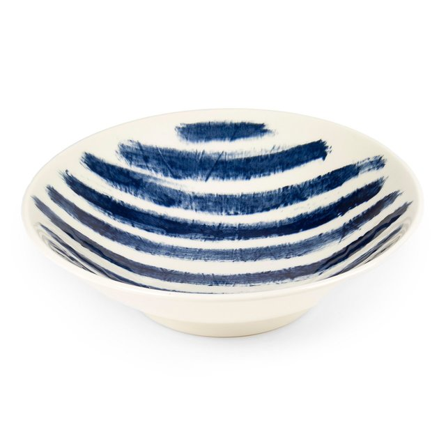 Indigo Rain Medium Serving Bowl Thumbnail 01
