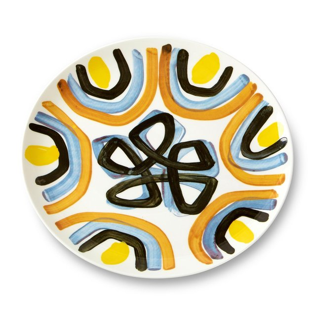 Peter Pilotto Dinner Plate Yellow Flower Thumbnail 01