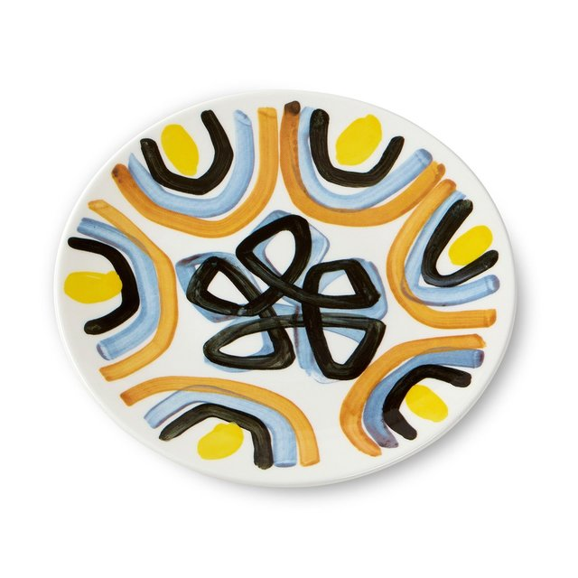 Peter Pilotto Salad Plate Yellow Flower Thumbnail 01