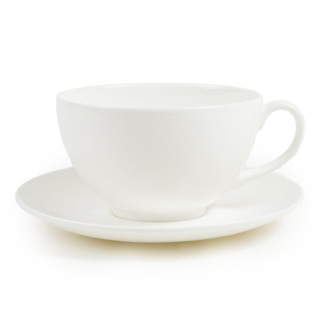 Cup & Saucer | White Collection | 1882 Ltd.