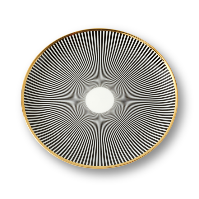 Dinner Plate Stripe | Lustre Collection with Bethan Gray | 1882 Ltd.