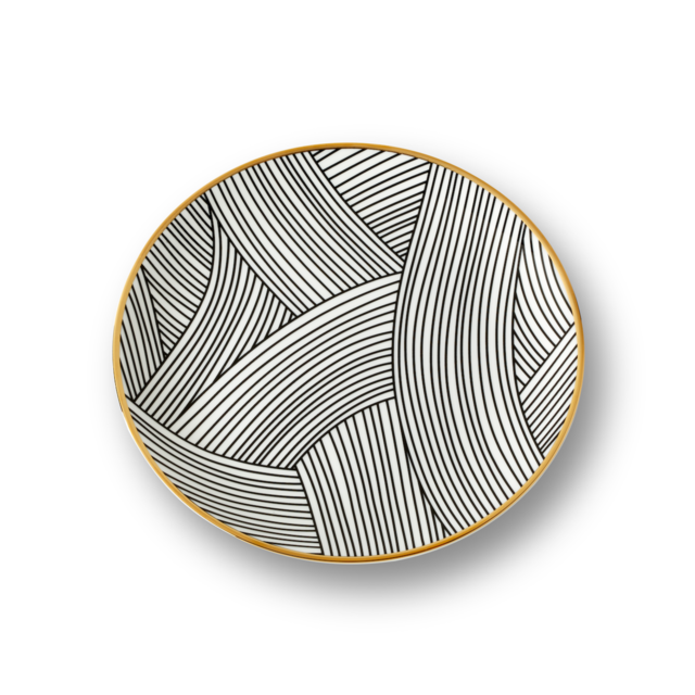 Salad Plate | Lustre Collection with Bethan Gray | 1882 Ltd.