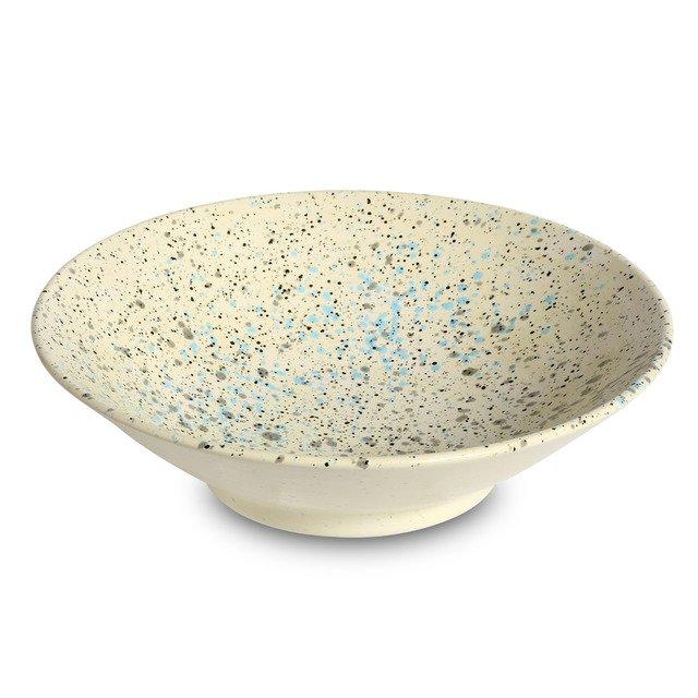 Medium Serving Bowl Blue | Accidental Expressionist with Martyn Thompson | 1882 Ltd.