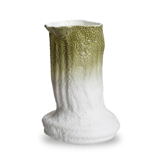 Green Stegreif Vase with Johannes Nagel | 1882 Ltd.