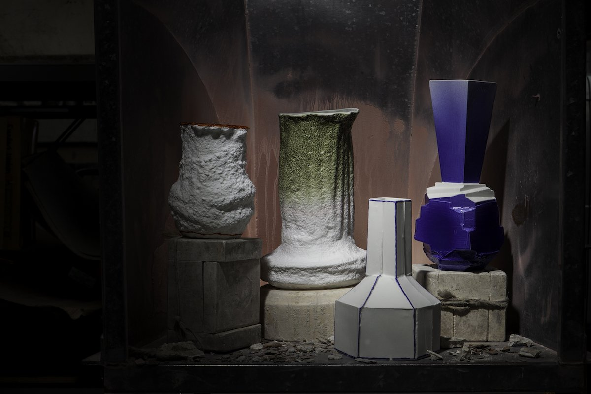 Stegreif Vase Collection with Johannes Nagel | 1882 Ltd.