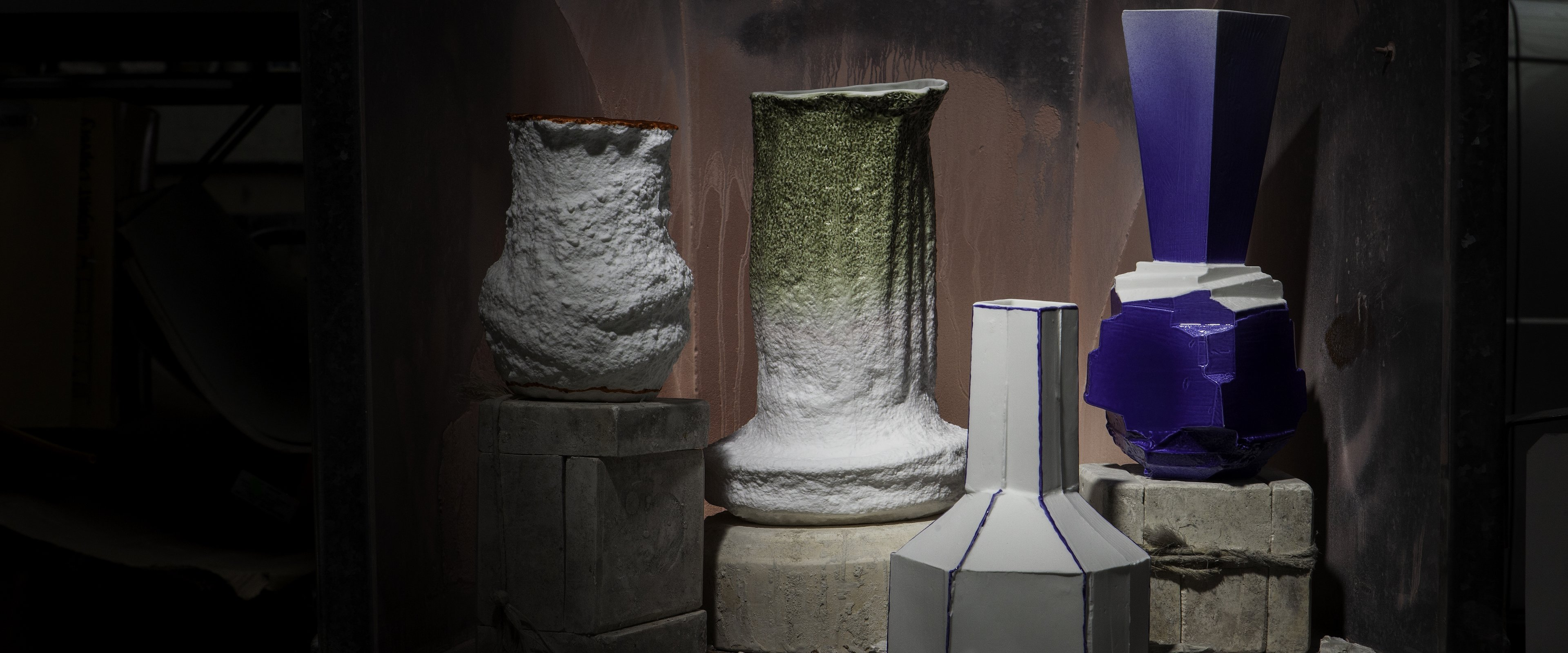 Stegreif Vase Collection with Johannes Nagel | 1882 Ltd.