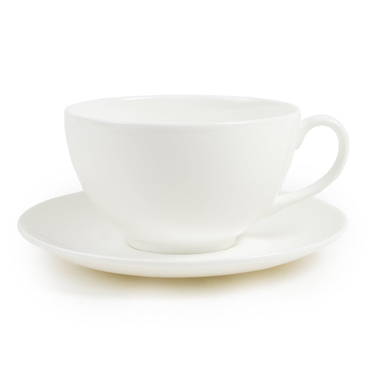 Cup Saucer White 1882 Ltd